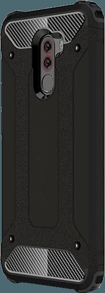 Xiaomi Pocophone F1 ütésálló tok légpárnás sarok fekete