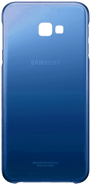 Samsung Galaxy J4 Plus (J415F) szilikon tok gyári SAMSUNG termék kék