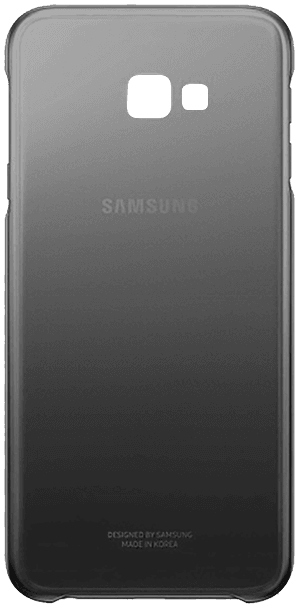 Samsung Galaxy J4 Plus (J415F) szilikon tok gyári SAMSUNG termék fekete