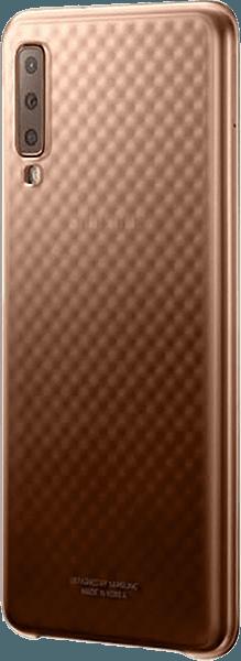 Samsung Galaxy A7 2018 (SM-A750F) kemény hátlap gyári SAMSUNG gyémánt mintás arany