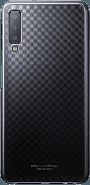 Samsung Galaxy A7 2018 (SM-A750F) kemény hátlap gyári SAMSUNG gyémánt mintás fekete