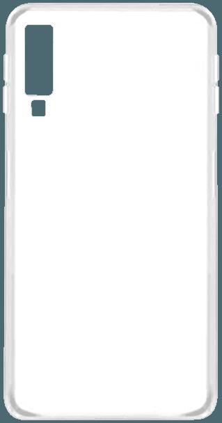 Samsung Galaxy A7 2018 (SM-A750F) szilikon tok átlátszó