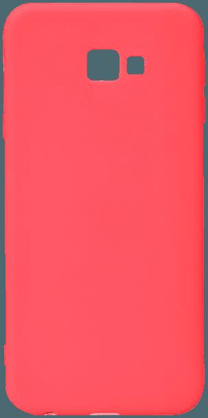 Samsung Galaxy J4 Plus (J415F) szilikon tok matt piros