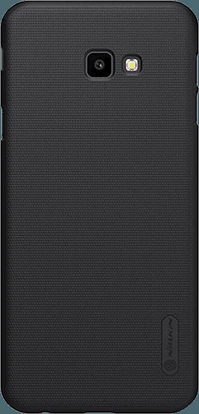 Samsung Galaxy J4 Plus (J415F) kemény hátlap gyári NILLKIN gumírozott-érdes felületű fekete