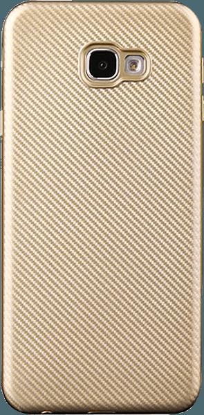 Samsung Galaxy J4 Plus (J415F) szilikon tok karbon mintás arany
