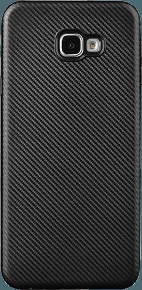 Samsung Galaxy J4 Plus (J415F) szilikon tok karbon mintás fekete