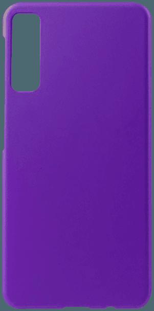 Samsung Galaxy A7 2018 (SM-A750F) kemény hátlap gumírozott lila