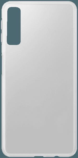 Samsung Galaxy A7 2018 (SM-A750F) kemény hátlap gumírozott átlátszó