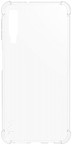 Samsung Galaxy A7 2018 (SM-A750F) szilikon tok gyári IMAK légpárnás sarok átlátszó