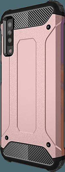 Samsung Galaxy A7 2018 (SM-A750F) ütésálló tok légpárnás sarok rozéarany