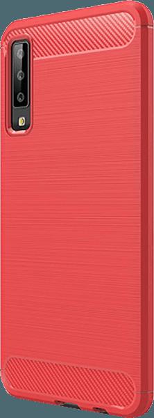 Samsung Galaxy A7 2018 (SM-A750F) ütésálló tok légpárnás sarok piros
