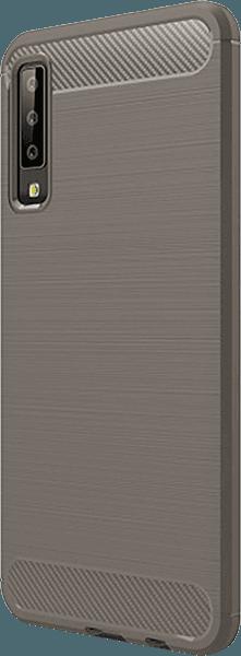 Samsung Galaxy A7 2018 (SM-A750F) ütésálló tok légpárnás sarok szürke