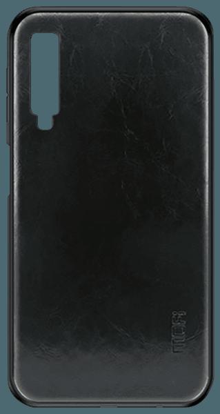 Samsung Galaxy A7 2018 (SM-A750F) kemény hátlap gyári MOFI fekete