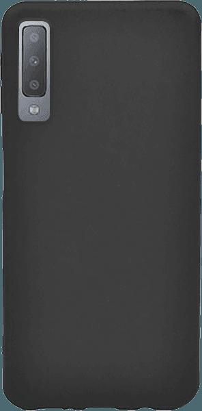 Samsung Galaxy A7 2018 (SM-A750F) szilikon tok gyári X-LEVEL ultravékony fekete