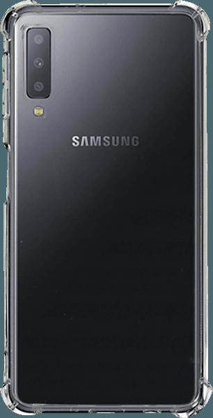 Samsung Galaxy A7 2018 (SM-A750F) szilikon tok légpárnás sarok átlátszó