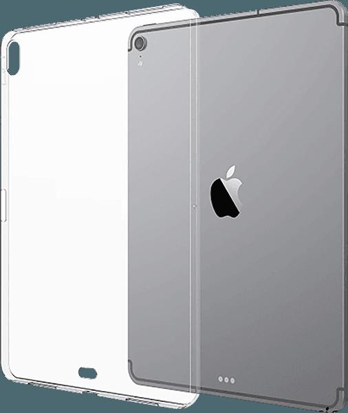 Apple iPad Pro 2018 12.9 szilikon tok fényes átlátszó