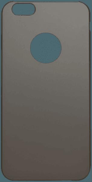 Apple iPhone 6S Plus kemény gyári ROCKPHONE hátlap logó kihagyós szürke