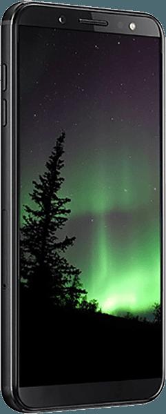 Samsung Galaxy J4 Plus (J415F) szilikon tok kézi tartópánt fekete