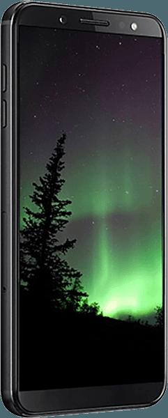 Samsung Galaxy J4 Plus (J415F) szilikon tok kézi tartópánt sötétkék