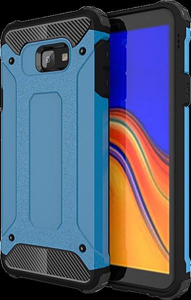 Samsung Galaxy J4 Plus (J415F) ütésálló tok légpárnás sarok világoskék