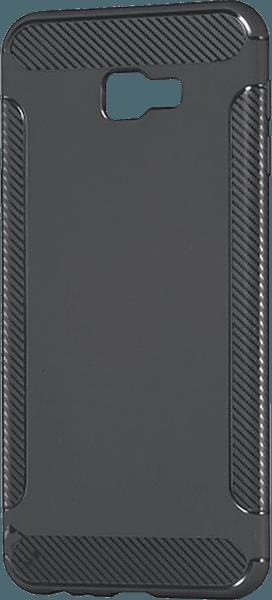Samsung Galaxy J4 Plus (J415F) szilikon tok karbon mintás szürke