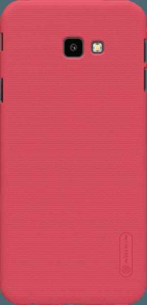 Samsung Galaxy J4 Plus (J415F) kemény hátlap gyári NILLKIN gumírozott-érdes felületű piros