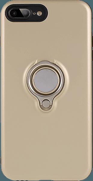 Apple iPhone 8 Plus kemény hátlap 360° ban forgatható arany