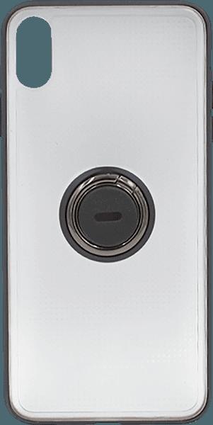 Apple iPhone XR szilikon tok gyári BASEUS beépített fémlemez fekete