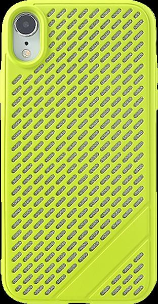 Apple iPhone XR szilikon tok lyukacsos zöld