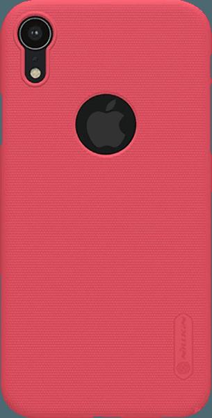 Apple iPhone XR kemény hátlap gyári NILLKIN logo kivágás gumírozott-érdes felületű piros