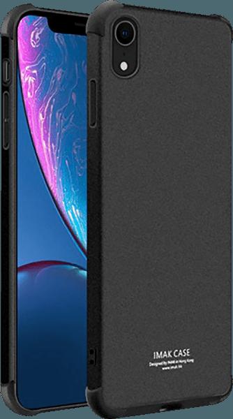 Apple iPhone XR ütésálló tok gyári IMAK légpárnás sarok fekete
