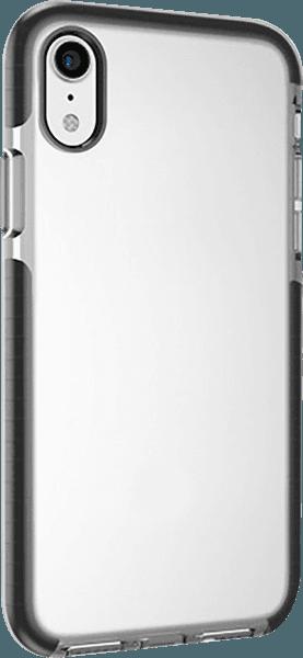 Apple iPhone XR ütésálló tok gyári BLAUTEL légpárnás keret fekete