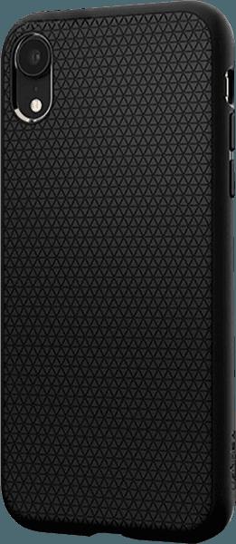 Apple iPhone XR szilikon tok gyári SGP háromszög minta fekete