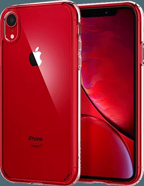 Apple iPhone XR ütésálló tok gyári SGP légpárnás keret átlátszó