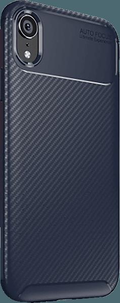 Apple iPhone XR szilikon tok légpárnás sarok sötétkék