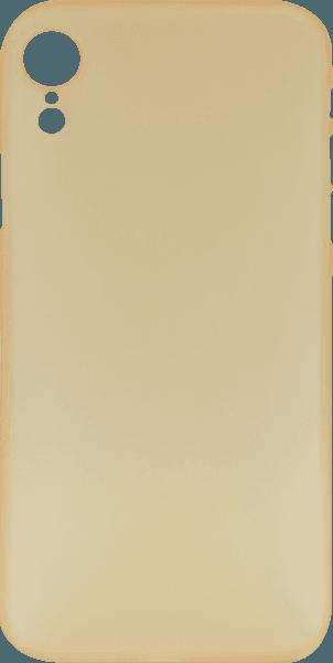 Apple iPhone XR kemény hátlap matt arany