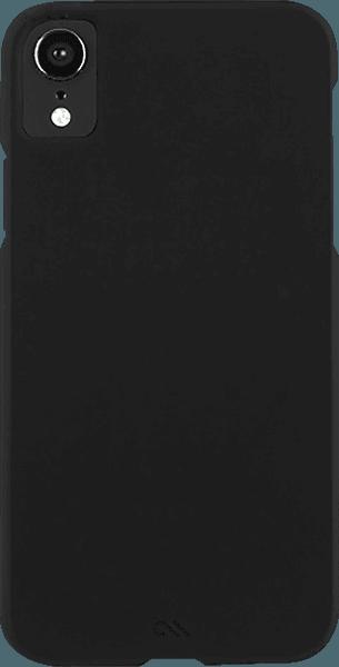 Apple iPhone XR kemény hátlap gyári CASE-MATE ultrakönnyű fekete