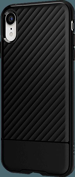 Apple iPhone XR szilikon tok gyári SGP fekete
