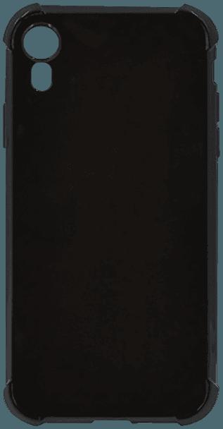 Apple iPhone XR ütésálló tok légpárnás sarok fényes fekete