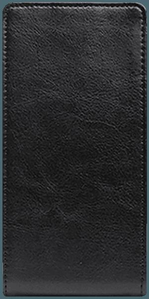 Apple iPhone XR lenyíló flipes bőrtok szilikon tartó fekete