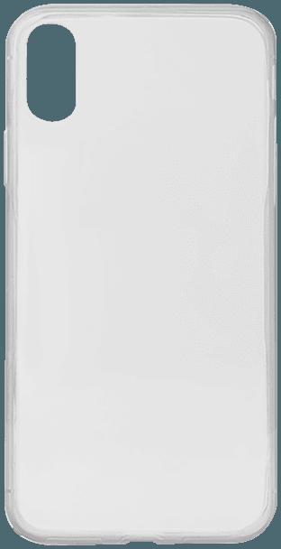 Apple iPhone XR kemény hátlap szilikon keret átlátszó