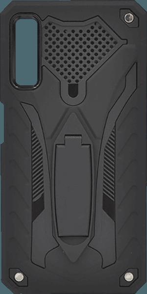 Samsung Galaxy A7 2018 (SM-A750F) ütésálló tok kitámasztó fekete