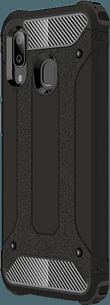 Samsung Galaxy A40 (SM-405) ütésálló tok szilikon belső fekete