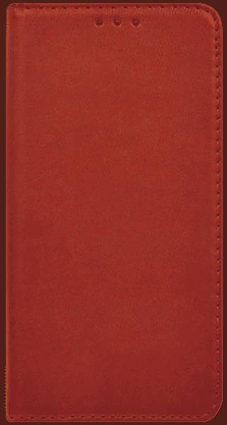 Samsung Galaxy A40 (SM-405) oldalra nyíló flipes bőrtok asztali tartó funkciós piros