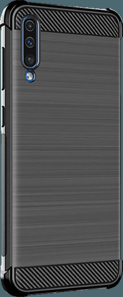 Samsung Galaxy A70 (SM-705) ütésálló tok gyári IMAK légpárnás sarok fekete