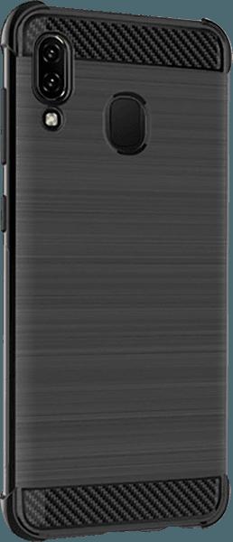 Samsung Galaxy A40 (SM-405) ütésálló tok gyári IMAK légpárnás sarok fekete