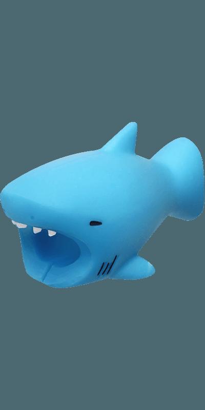 Apple iPhone XS kábelvédő cápa
