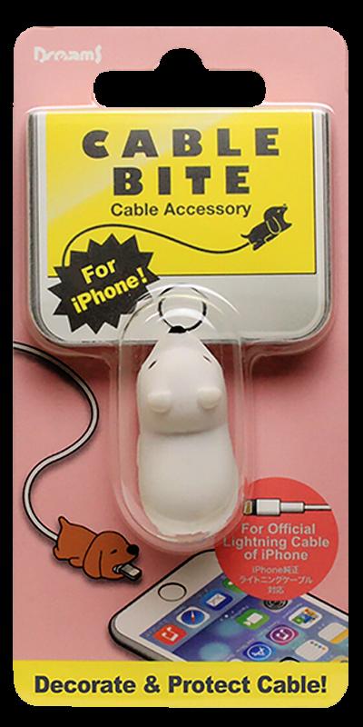 Apple iPhone XR kábelvédő jegesmaci