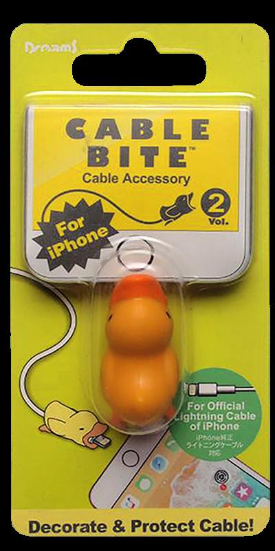Apple iPhone X kábelvédő kacsa