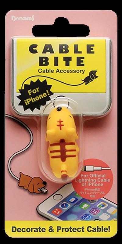 Apple iPhone X kábelvédő tigris